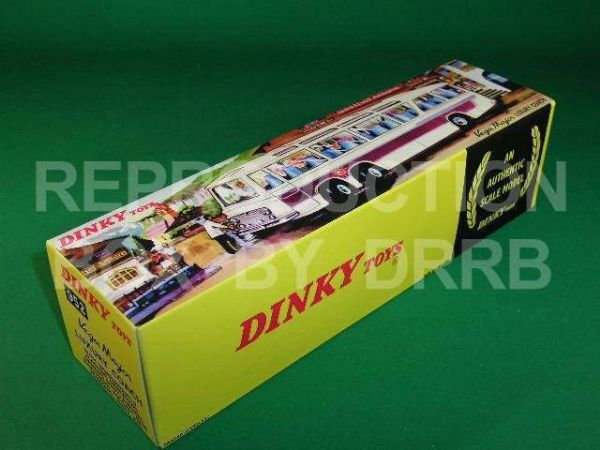 Dinky #952 Vega Major Luxury Coach (with lights) - Reproduction Box